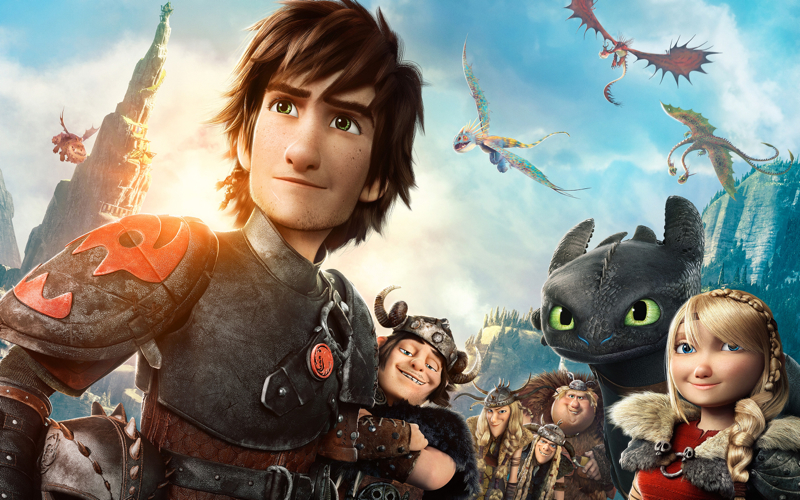 how to train your dragon 2 movie-wide